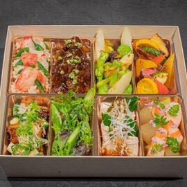 NARISAWA ジュエリーボックス(料理8種類・スープ・デザート)