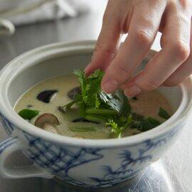 Sangamオススメセット①(グリーンカレー、トマトチーズグリーンカレー、ジャスミンライス×2、フォー、トムヤムクンフォー)各1食