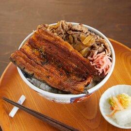 土用丼「究極の鰻牛」