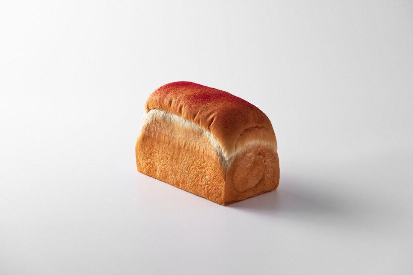 くるくる食パン あまおう苺ジャム