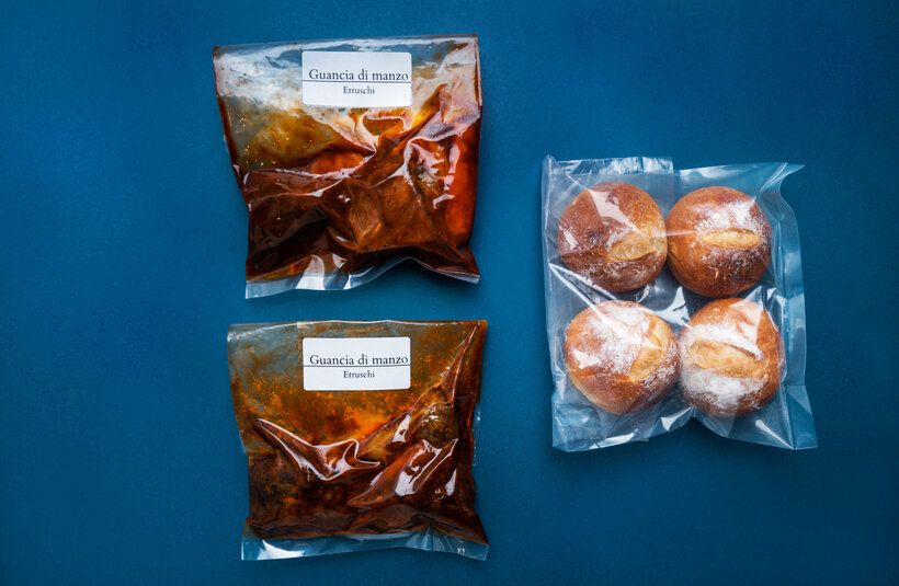 48時間低温調理 和牛ホホ肉のやわらかシチュー&自家製パン(2人前/4人前)