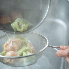 セロリ水餃子と桃肌水餃子20個(10個入り2パック) 特製ココナッツだれ付