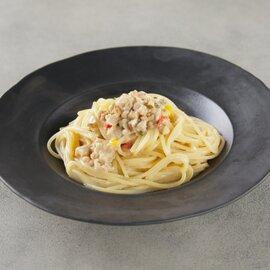 マスカルポーネチーズを使った地鶏のクリームソース(2人前)