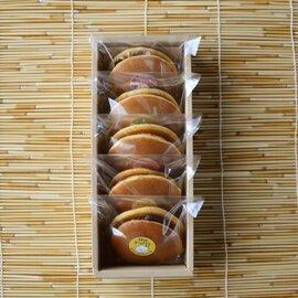 【どら焼き×バタークリーム】日光ドラバタさんアソート5個セット