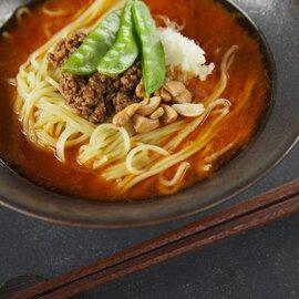 福龍担々麺・黒胡麻担々麺セット(各3食・計6食)