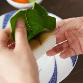 柿の葉すし 鯖・鮭