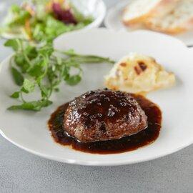 Restaurant TOYO おすすめギフトセット(松阪牛ハンバーグ4人前・八女茶のチーズケーキ1本)