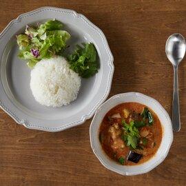 グリーンカレー&トマトチーズグリーンカレー ジャスミンライス付き 各2食セット