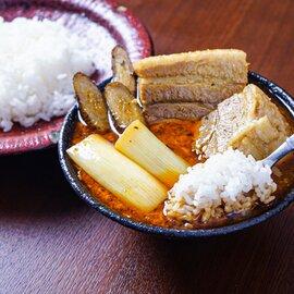 ほどけるくちどけ!トロトロ豚角煮スープカレー(600g×2個)