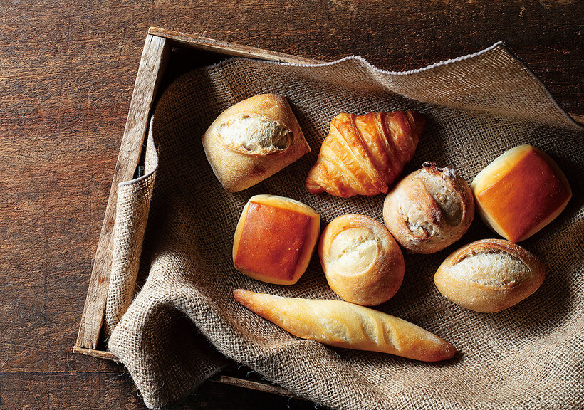 桐生酵母のパン(2種類)