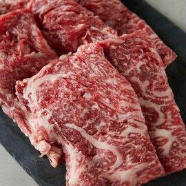 【送料無料】<六本木/格之進>黒毛和牛ロースすき焼き用(400g)