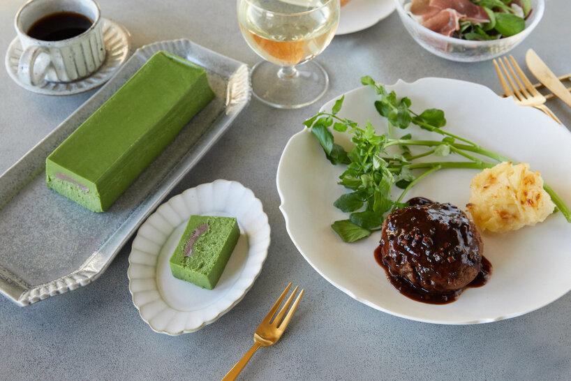 Restaurant TOYO おすすめギフトセット(松阪牛ハンバーグ4人前・八女茶のチーズケーキ1パック)